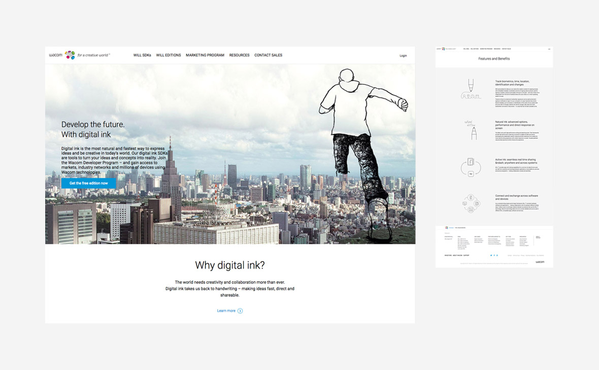 Wacom – Website Copy WILL - Teaserbild