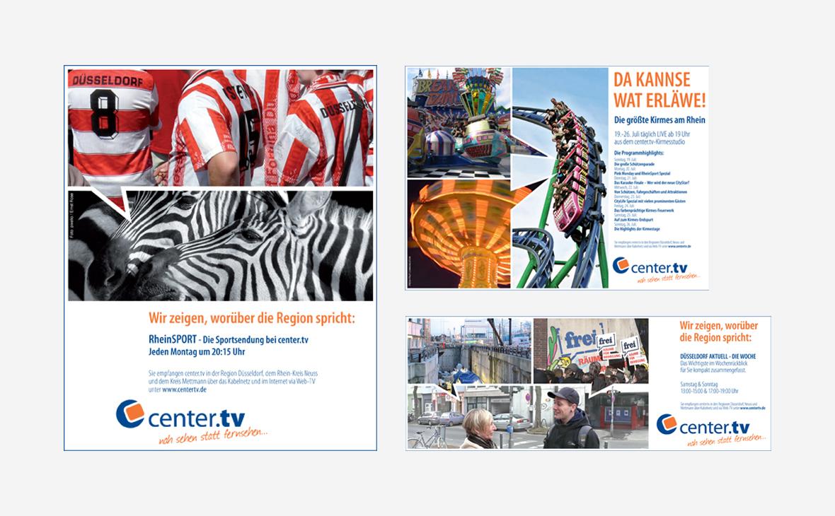 Center.TV – Anzeigen - Teaserbild