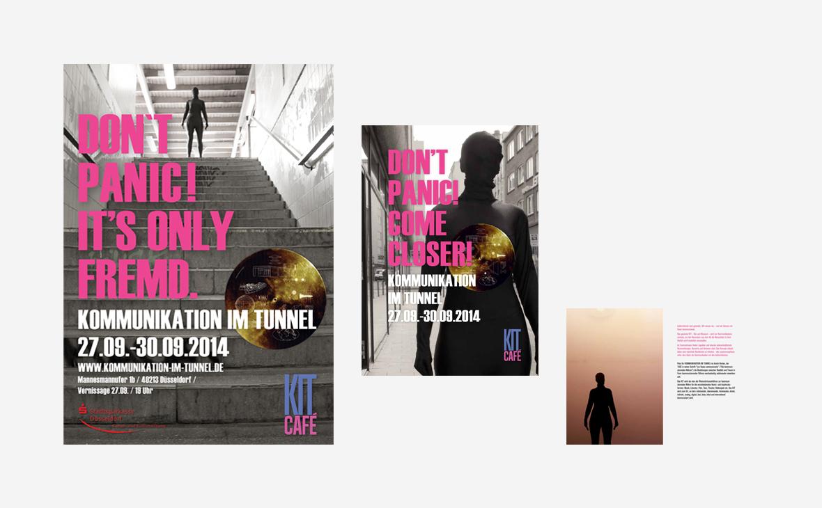KIT - Kommunikation im Tunnel - Poster Programmheft - Teaserbild