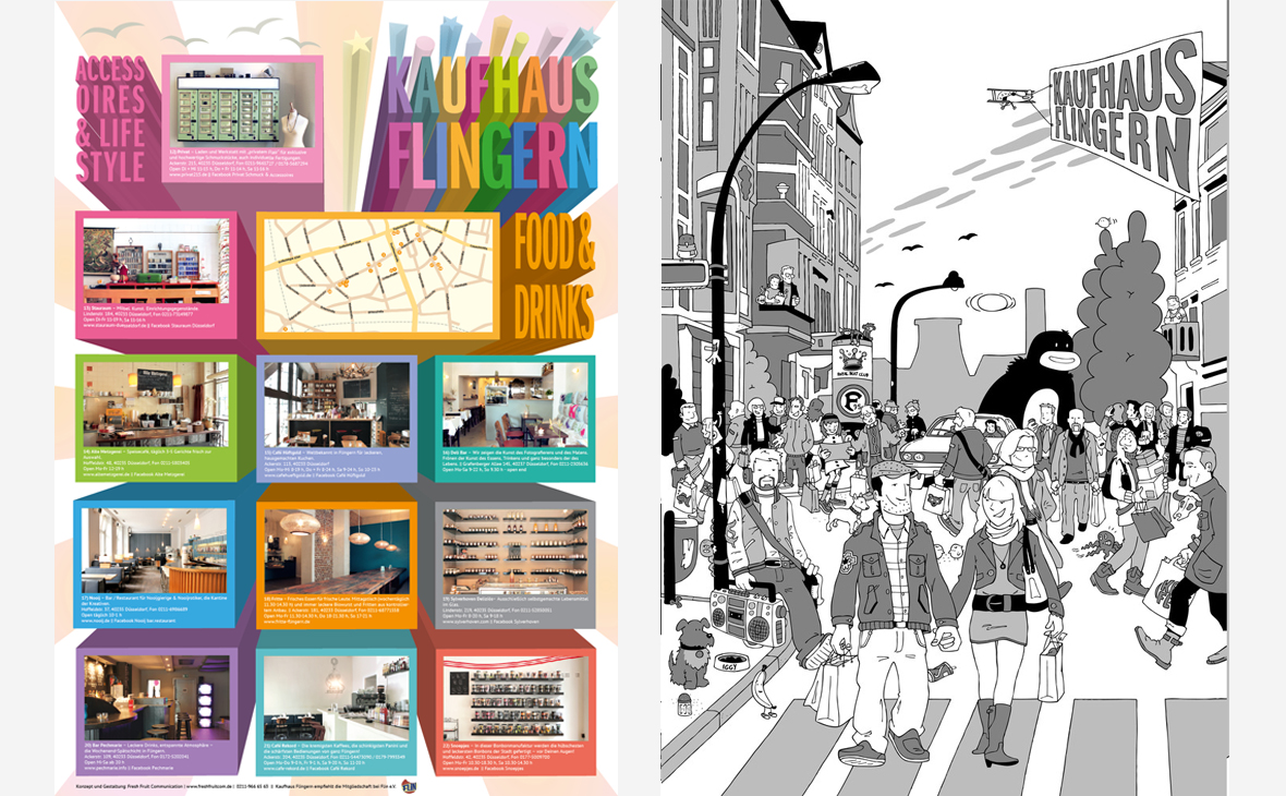 Kaufhaus Flingern - Poster Broschüre - Teaserbild