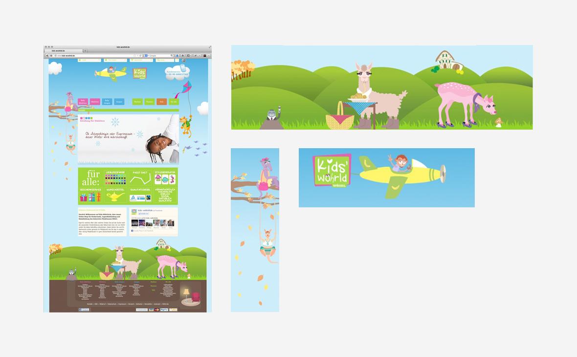 Kids' Wöhrld – Website - Teaserbild
