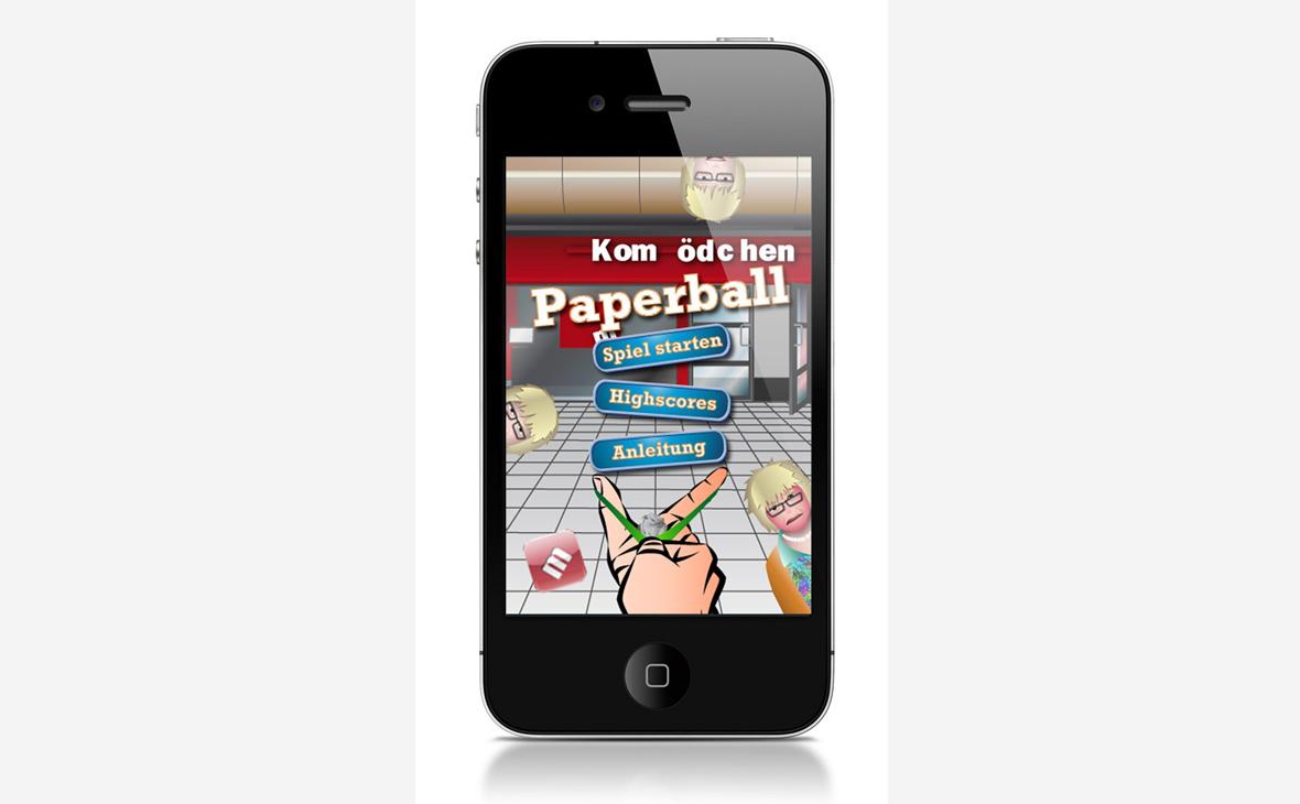 Kom(m)ödchen - Gaming App Paperball - Teaserbild
