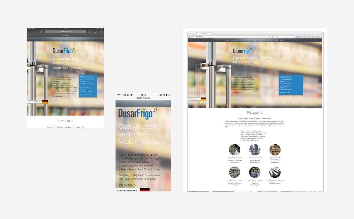 DusarFrigo – Website - Teaserbild