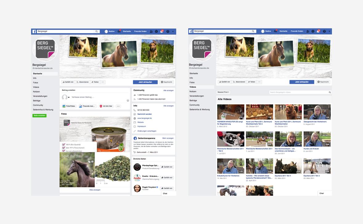 Bergsiegel – Facebook Vierbein-Kraeuter.de – Teaserbild