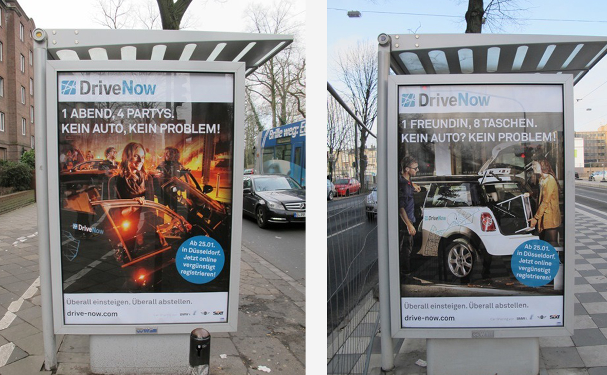 DriveNow: City-Lights Headlines