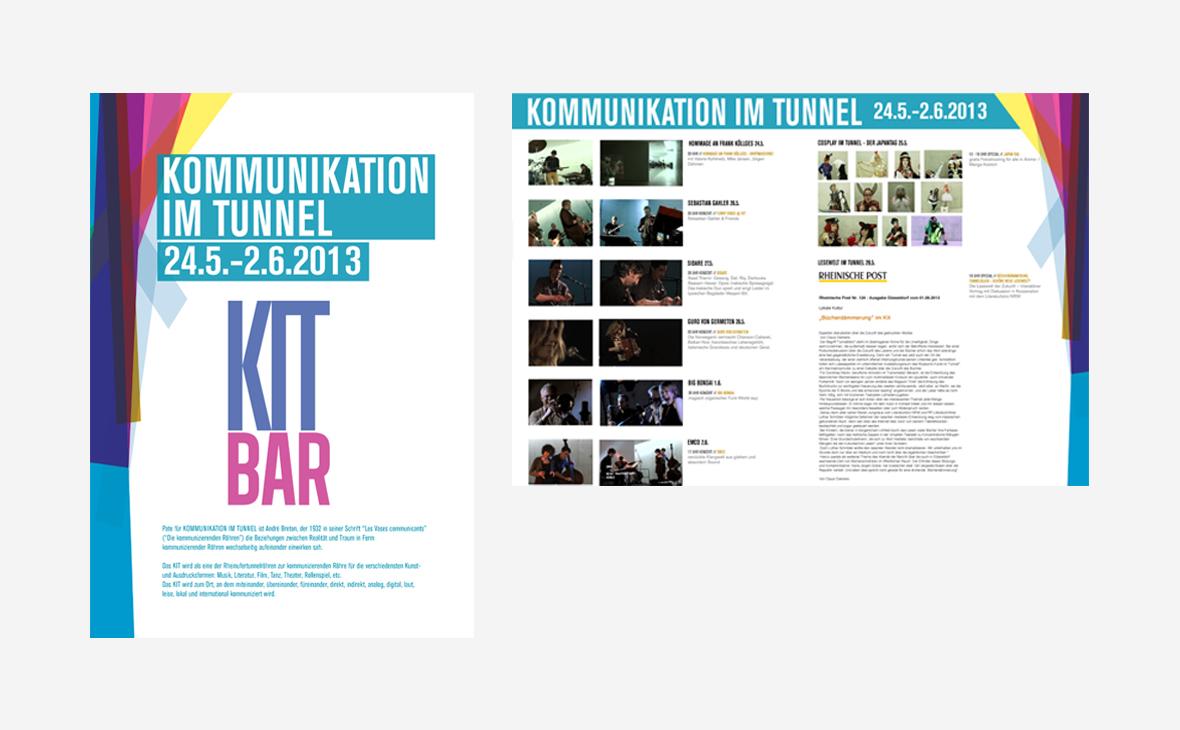 KIT - Kommunikation im Tunnel - Programmheft - Teaserbild