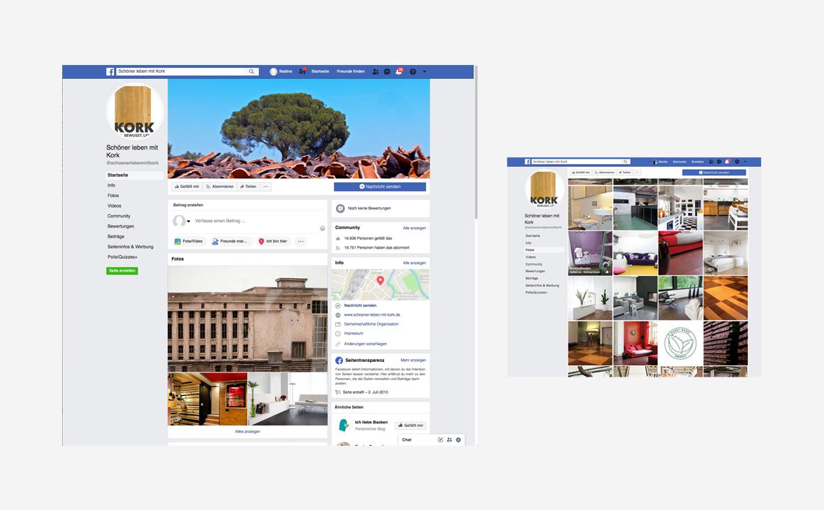 Deutscher Kork-Verband: Facebook