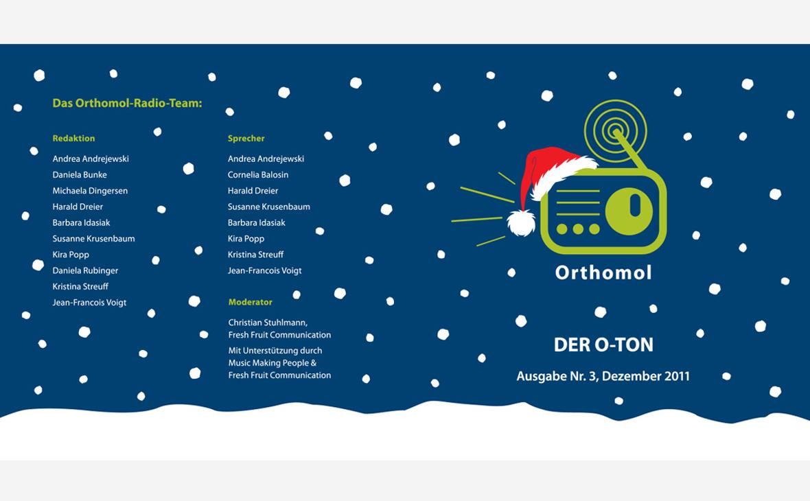 Orthomol - Unternehmensradio - Teaserbild