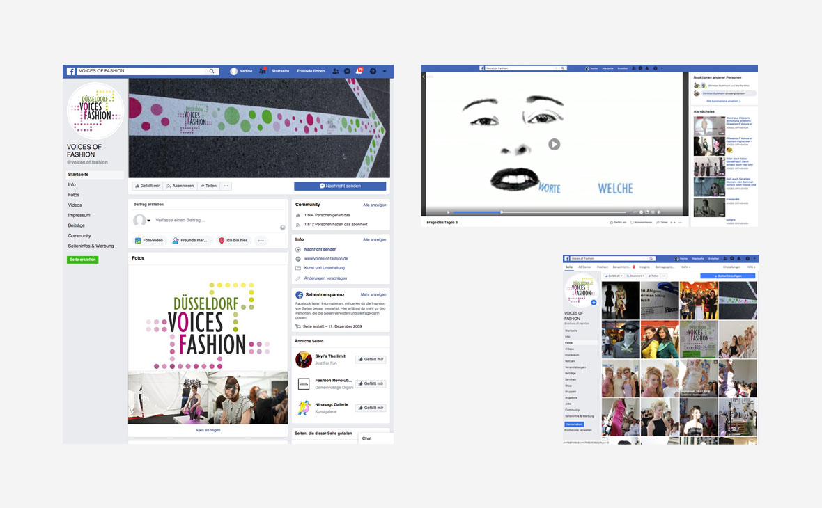 Voices of Fashion: Facebook Content