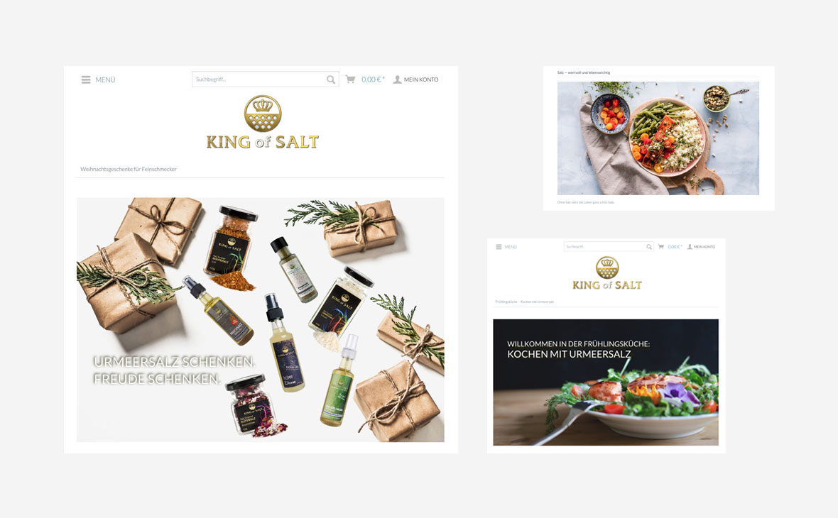 King of Salt - Website - Landingpage - Teaserbild